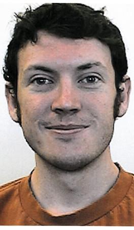 ရုပ္ရွင္ ပတ္ခတ္ မႈ တြင္ သံသယ ရွိ သူ Ph.D. ေက်ာင္းသား James Holmes  Photo: University of Colorado/Associated Press