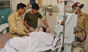 Malala Yousafzai treated by army doctors