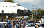 Shuttle Endeavour: Side view
