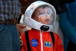 Shuttle Endeavour: Junior astronaut