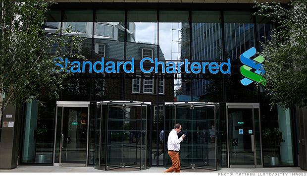 ျမန္မာ စစ္အစိုးရ ၏ ေငြ ေၾကး လႊဲ ေျပာင္း မႈ ျပဳ လုပ္ ရာ Standard Chartered ဘဏ္
