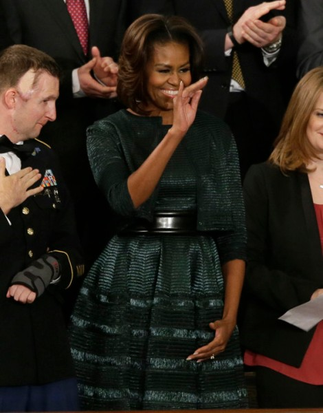 michelle-obama-state-of-the-union-2014-dress