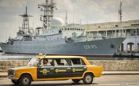 CUBA-RUSSIA-WARSHIP-VIKTOR LEONOV